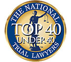The National Trial Lawyers | Torrens Law Group | Top 40 Under 40 Membership Badge